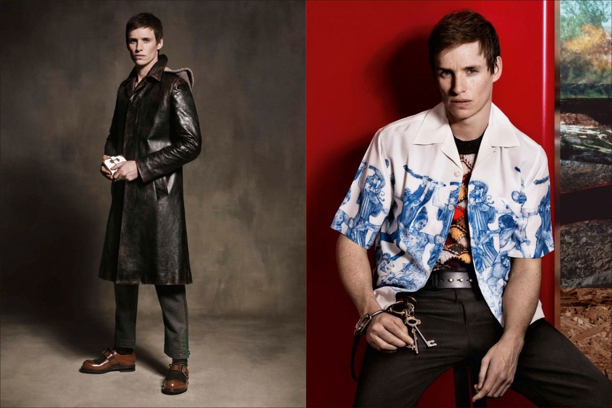 Eddie Redmayne to be the face of the Prada collection2