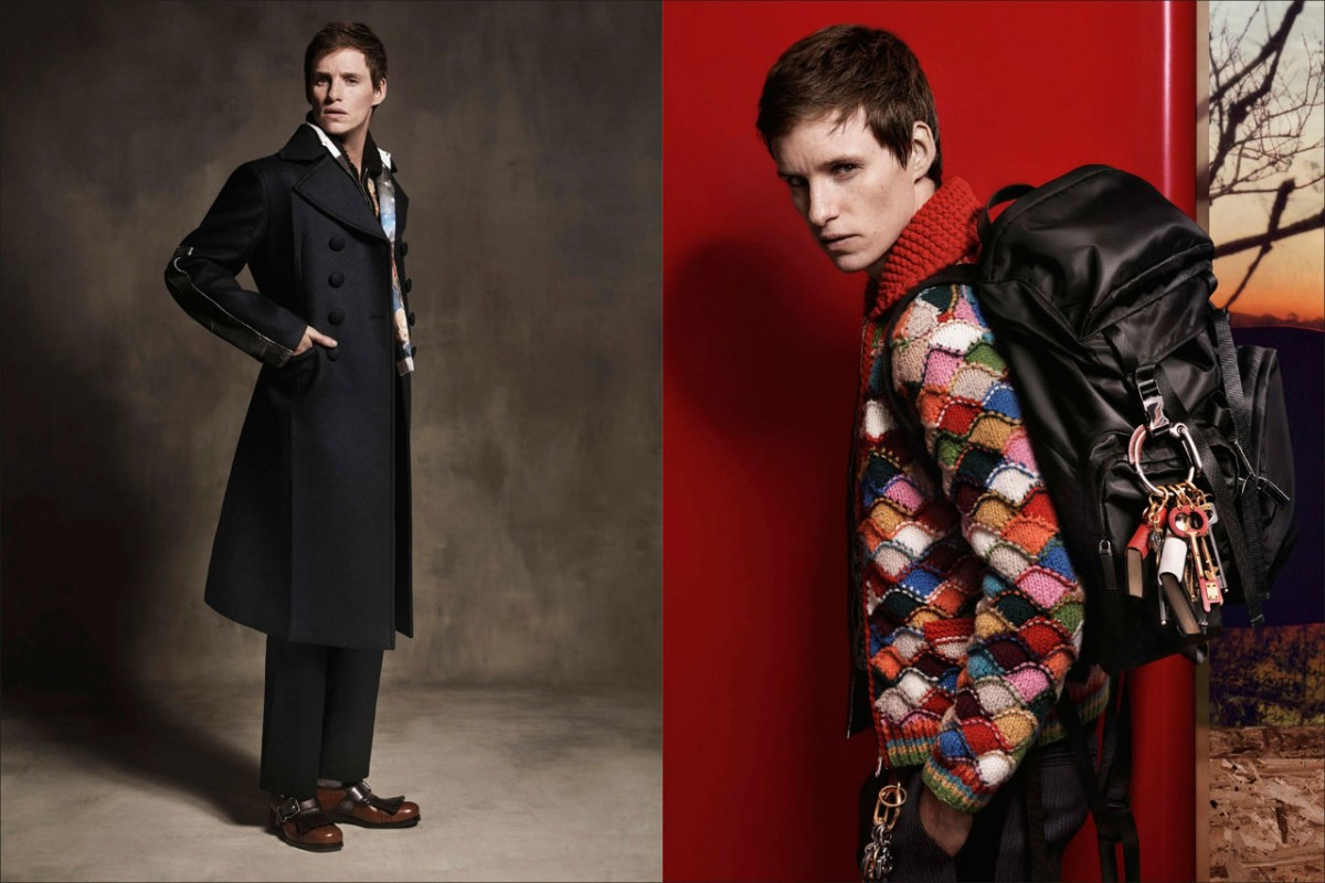 Eddie Redmayne to be the face of the Prada collection4